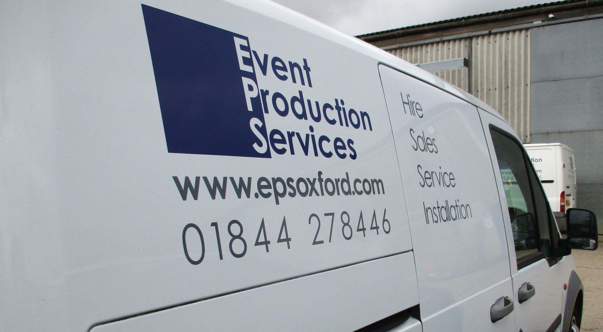 Event Production Services van